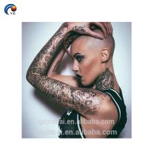 Manches chaudes de tatouage de sexe YinCai pour le corps de dame, autocollant de tatouage de bras de grande taille