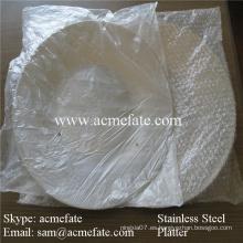 Placa de acero inoxidable uso doméstico