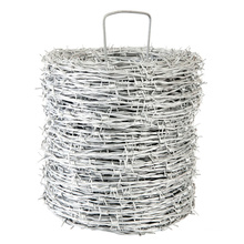 China Manufacturer High Tensile Strength 2.5mm Galvanized Barbed Wire (BW)
