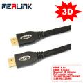 Full 19pin 3D 4k * 2k HDMI Cabo 1.4V