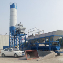 Electric low operating cost concrete batching plant price