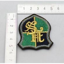 Alta calidad personalizada Logo remiendo tejido para ejército tela por mayor