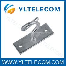 Sorteio Metal ganchos, ganchos de FTTH C, C-tipo gancho, grampo Span de cabeamento de fibra