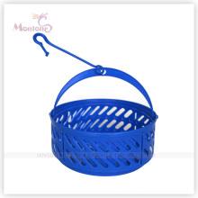 20cm (Dia.) * 36cm (H) Round Plastic Hook Storage Basket