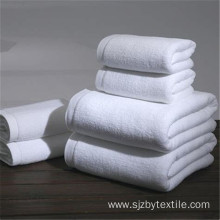 Cheap white 100% cotton bathroom towels for hotels