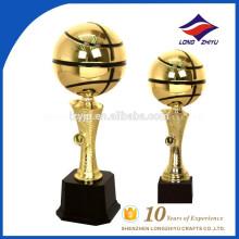2017 новый дизайн баскетбол золото металл трофей высокий трофей