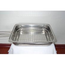 Estampage en acier inoxydable pour les pièces de barbecue Arc-S041