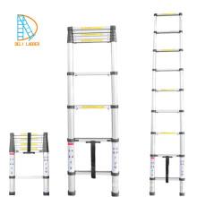 Escada de degrau telescópica de dupla face EN131 / SGS / CE