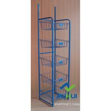 5 Layer Floor Standing Metal Bulk Display Stand (pH15-567)