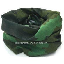 OEM Custom Made Army Green Printed Neck Tube Buff