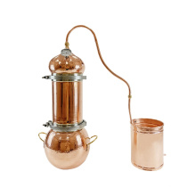 10L floral water distiller hydrolate extraction alembic distiller for essential oil home used distiller