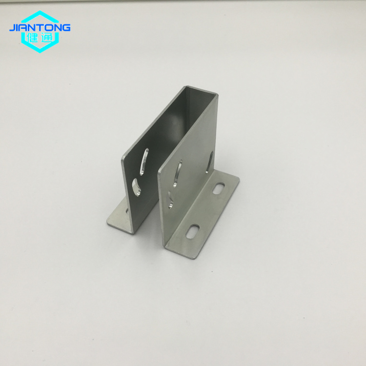 zinc plated sheet metal bracket stamping bending parts (1)