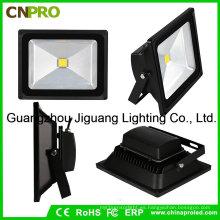 Proyector LED con 10-50W de color blanco impermeable al aire libre AC85-265V