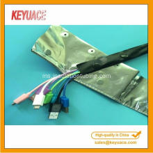 PVC Button Aluminum Foil Shielding Band Wrapping