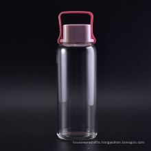 Glass Bottle with Handle Cap