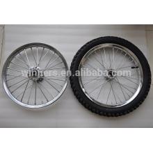 """roue de jante en acier 16x2.125 16 """"20"""" roues de vélo d'air"""