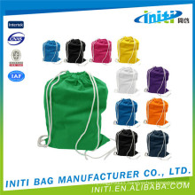 Cheap shopping high quality cotton drawstring laundry bag
