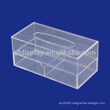 mini and small high quality acrylic facial car tissue box