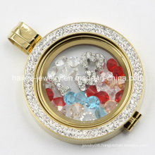 New Design Stainless Steel Locket Pendant with Plate