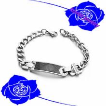 2016 pulseira de aço inoxidável 316l pulseira de aço inoxidável pulseira de aço homens pulseira jóias