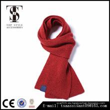 La manera del invierno hizo punto las lanas y los hombres y las bufandas de acrílico de la bufanda El estilo europeo y americano