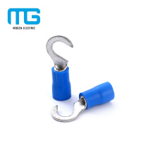 Quick Disconnect Copper Cable Insulated Hook Terminals For Electric