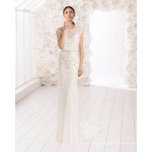 Heavy Beading Lace Tulle Bridal Evening Wedding Dress