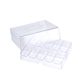 200 Ct Acrylic Poker Chip Tray with Lid