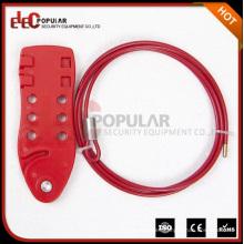 Elecpopular China Fábrica de bloqueo de alambre de los fabricantes Resistente al cable eléctrico de la válvula de bloqueo