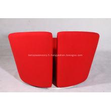 chaise longue en tissu Truelove chaise