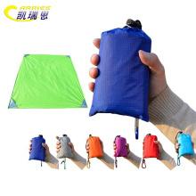 Large luxury foldable waterproof nylon pocket picnic blanket