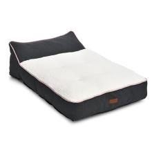 High Quality Soft Plush Fur Orthopedic Form Ramie Cotton Wool Dog Bed Pet Sofa
