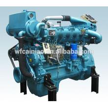 vente chaude moteur diesel marin de 6 cylindres, moteur marin de 200hp, moteur diesel marin