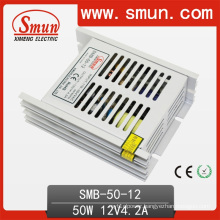 50W 12V 4A Switching Power Supply Plastic Case Ultra Thin