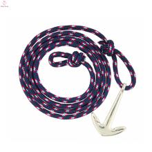 2017 pas cher marine marine voile ancre pirate lumière tissé bracelet pour hommes ou femmes