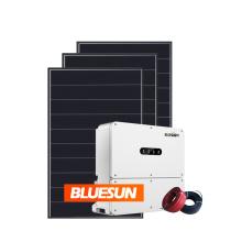 Bluesun Solar on grid 36kw 30kw 20kw full house solar power system in china