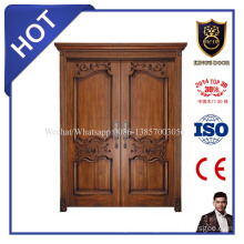 High Quality European Design Slid Wood Main Door Entrance Doors