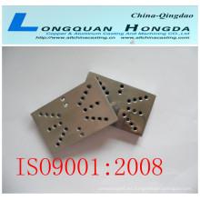 Piezas de aluminio fundición a presión de piezas de automóviles con OEM, piezas de repuesto del motor