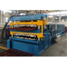 845 & 900 Dachbahn-Doppelschicht-IBR-Wellpappenmaschine