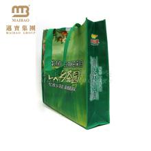 Bolso de compras no tejido plegable modificado para requisitos particulares barato modificado para requisitos particulares promocional de la tela de Eco, bolsos no tejidos reciclables de los PP