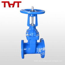 resilient seat rising spindle double wedge gate valve pn16