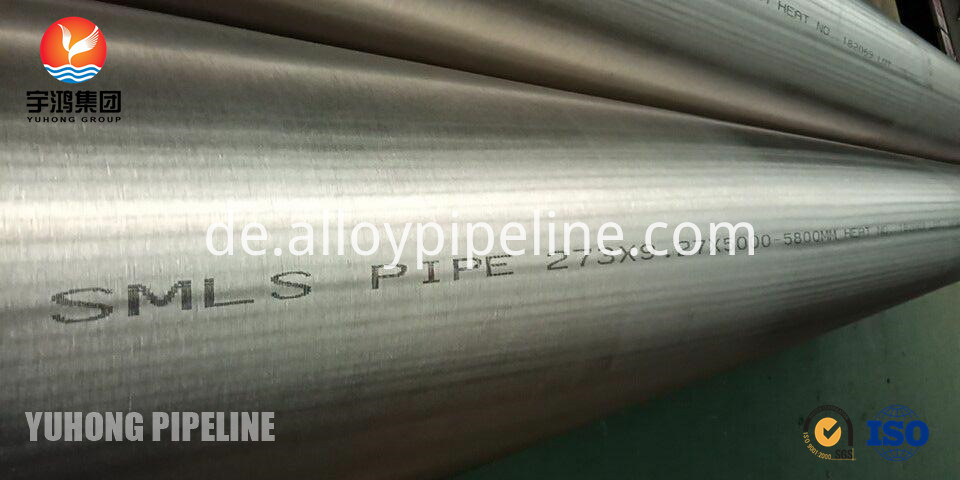 ASTM B165 Monel 400 Seamless tube