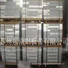 Carácter de resistencia térmica buena calidad 1050 H14 hoja de aluminio