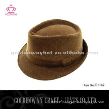 Fleece party hat for men fedora hat