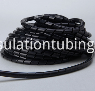 Transparent Color Insulation Wire Spiral Wrapping Band
