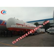 2015 alta seguridad 2 ejes y 3 ejes remolque de gas gpl barato, China tanque de gas licuado semi remolque fábrica