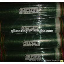 agricultura ensilaje de heno envoltura plástica de paca