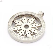 Специальные циркон монета медальон подвески,магнита, подвески монеты с цветочным плиты