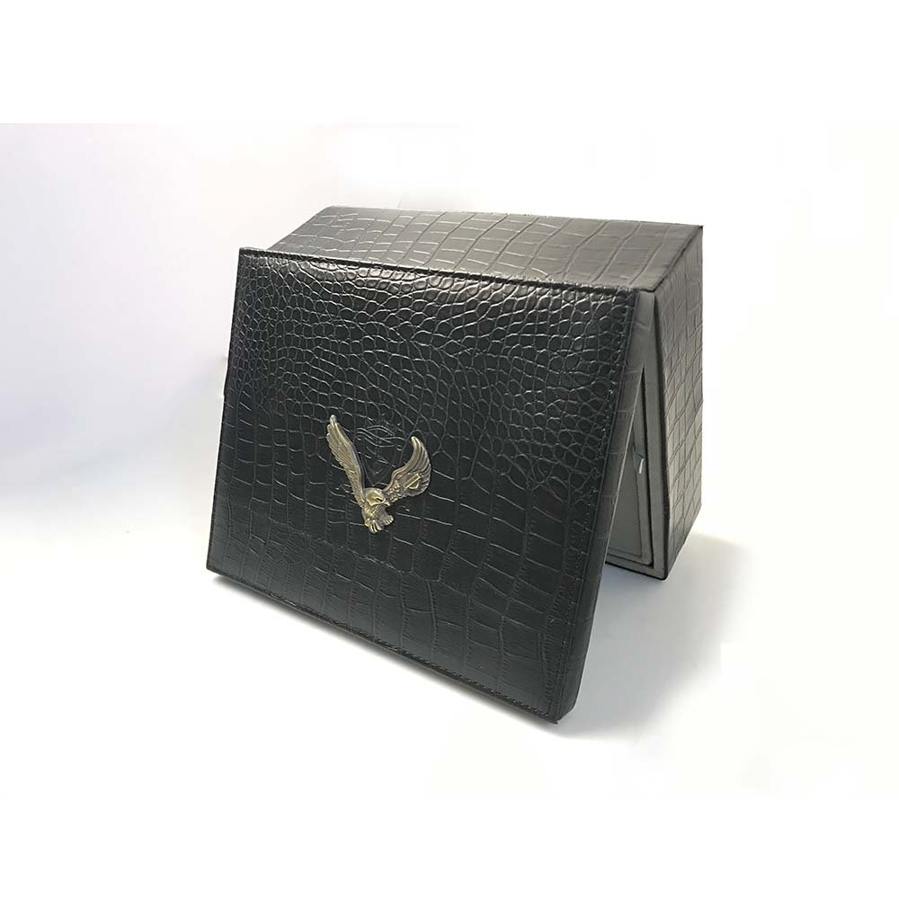 High Grade Leather Jewelry Gift Box