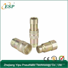 ningbo esp steel flat face type hydraulic quick coupling